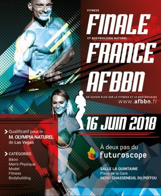 Finale France Fitness et Bodybuilding naturel