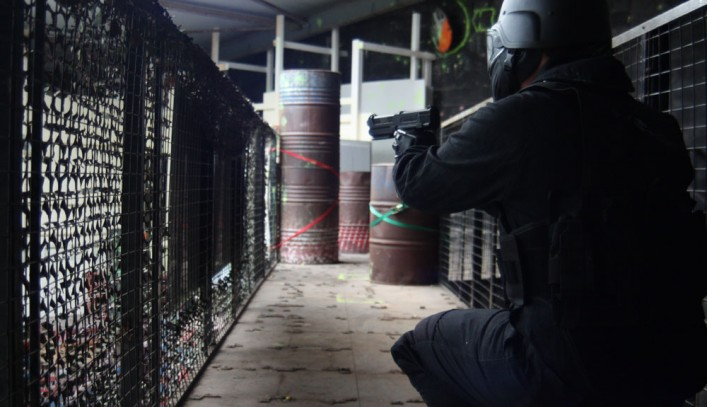 Urban Paintball