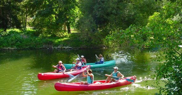 Canoeing and kayaking centre ch tellerault 86 vienne for Club piscine lafontaine