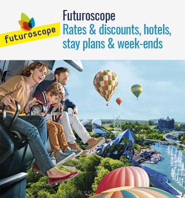 Futuroscope - Rates & discounts, hotels,stay plans & week-ends