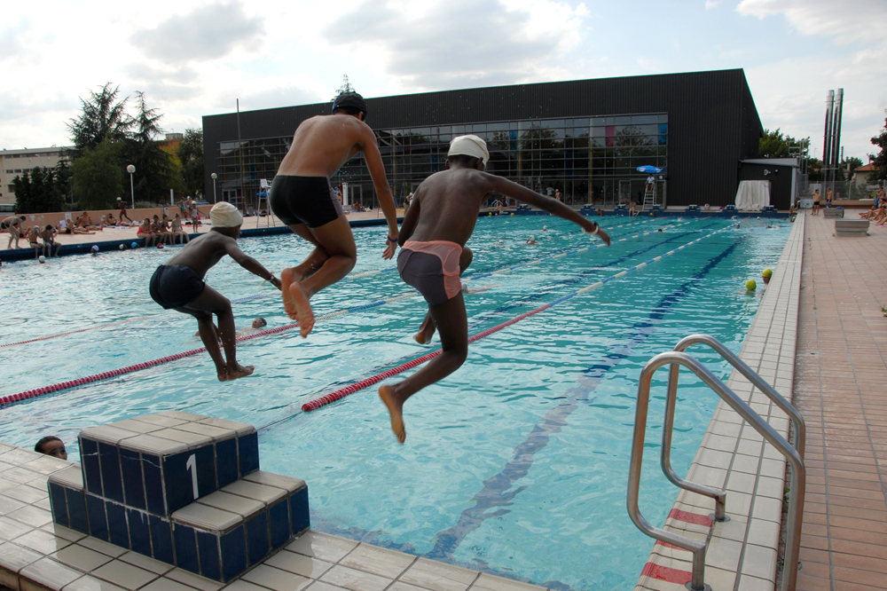 La ganterie swimming pool poitiers 86 vienne for Piscine villette de vienne