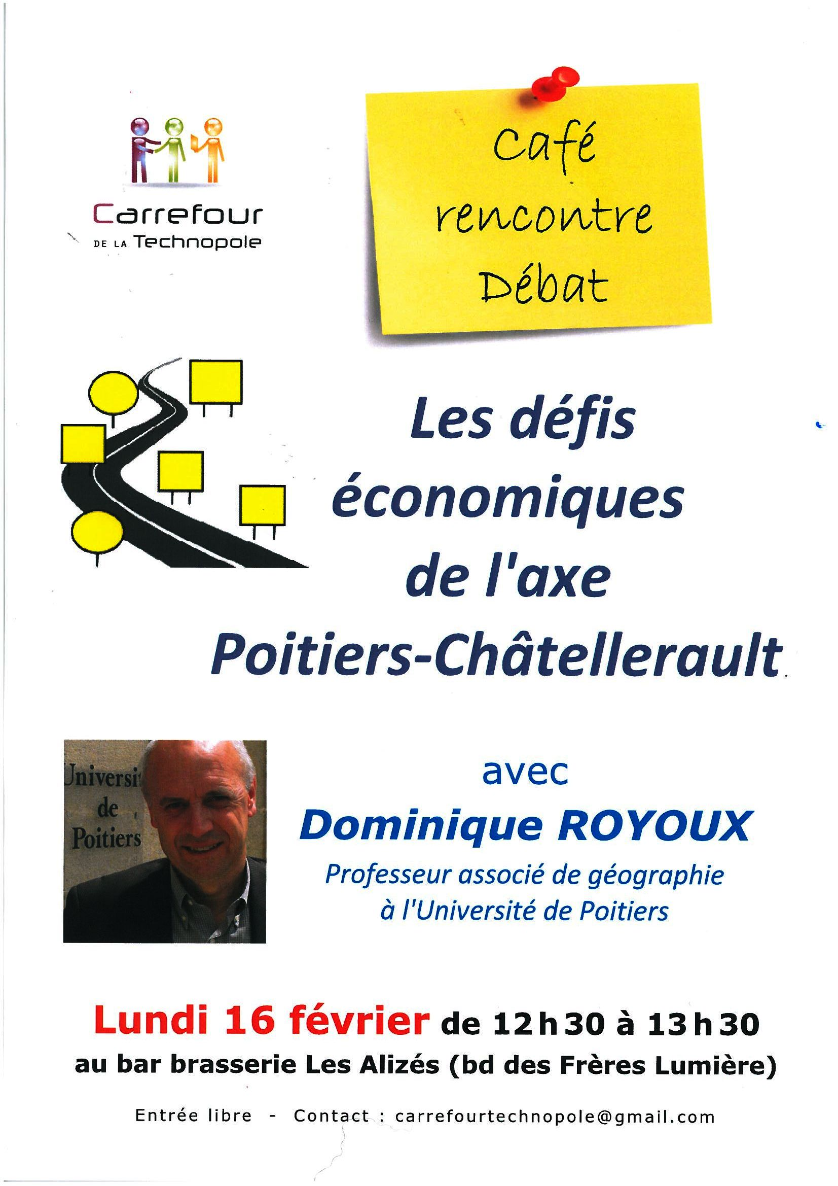 caf rencontre d bat sur les d fis conomiques de l 39 axe poitiers ch tellerault tourisme. Black Bedroom Furniture Sets. Home Design Ideas