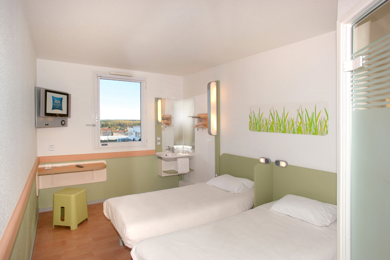 Ibis budget poitiers nord chasseneuil du poitou h tels for Prix chambre hotel ibis