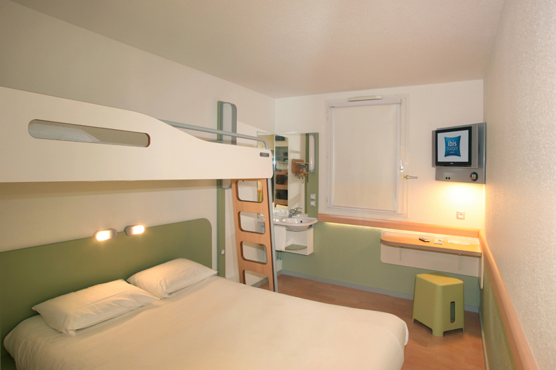 ibis budget poitiers nord chasseneuil du poitou hotels in la vienne. Black Bedroom Furniture Sets. Home Design Ideas