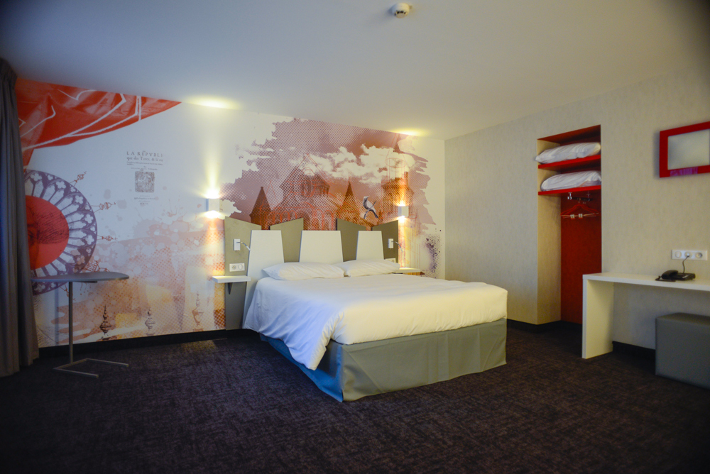 Ibis styles poitiers centre poitiers hotels in la vienne for Hotel design poitiers