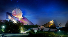 Futuroscope by night